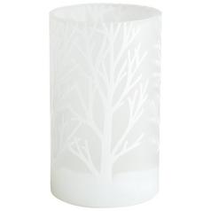 Cyan Design Frosted Bark White Vase