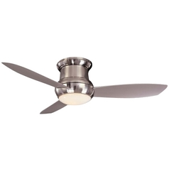 52-Inch Wet Rated Ceiling Fan w/ Three Blades and Light Kit