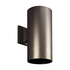 Progress Modern Outdoor Wall Light in Antique Bronze Finish