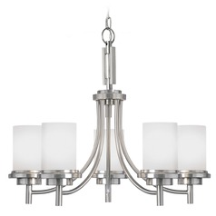 Sea Gull Lighting Winnetka Brushed Nickel Chandelier