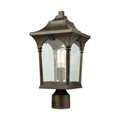 Elk Lighting Loringdale Hazelnut Bronze Post Light