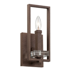 Sconce Wall Light in Flemish Bronze Finish