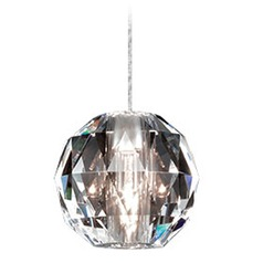 WAC Lighting Crystal Collection Chrome Track Pendant