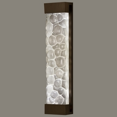Fine Art Lamps Crystal Bakehouse Bronze Sconce