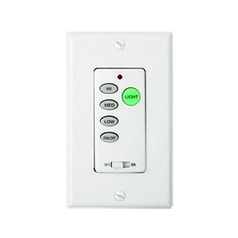 Ceiling Fan Control White Fan Control by Vaxcel Lighting