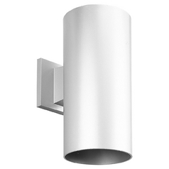 Progress Modern Outdoor Wall Light in White Finish