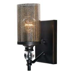 Mercury Glass Sconce Oil Rubbed Bronze by Kenroy Home