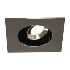 WAC Lighting Ledme Miniature Recessed Gunmetal LED Recessed Trim
