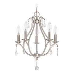 Jeremiah Lighting Brushed Nickel Mini-Chandelier