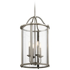 Kichler Lighting Emory Pendant Light with Cylindrical Shade
