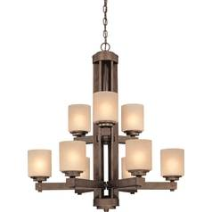 Dolan Designs 2-Tier 9-Light Chandelier in Sienna