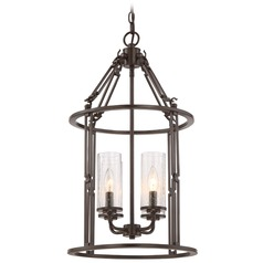 Quoizel Buchanan Western Bronze Pendant Light