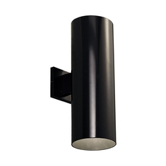 Progress Modern Outdoor Wall Light in Black Finish