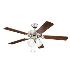 Kichler Lighting Basics Ceiling Fan with Light