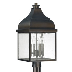 Capital Lighting Westridge Old Bronze Post Light