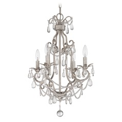 Craftmade Antique Silver Mini-Chandelier