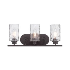 Designers Fountain Gramercy Park Old English Bronze Bathroom Light