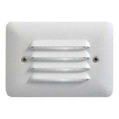 Kichler Modern LED Recessed Step Light in Textured White Finish
