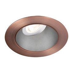 WAC Lighting Round Haze Copper Bronze 3.5