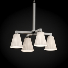 Justice Design Group Fusion Collection Chandelier