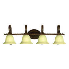 Craftmade Riata Aged Bronze Textured Bathroom Light