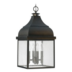 Capital Lighting Westridge Old Bronze Outdoor Hanging Light