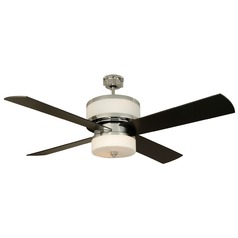 Craftmade Lighting Midoro Chrome Ceiling Fan with Light