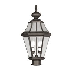 Livex Lighting Georgetown Bronze Post Light