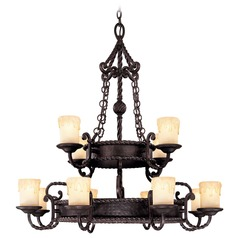 Savoy House Slate Chandelier