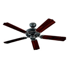 Ceiling Fan Without Light in Old Chicago Finish