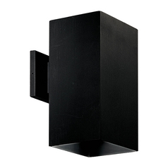 Progress Outdoor Wall Light in Black Finish
