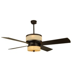 Craftmade Lighting Midoro Oiled Bronze Ceiling Fan with Light