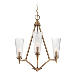 Designers Fountain Montelena Old Satin Brass Mini-Chandelier