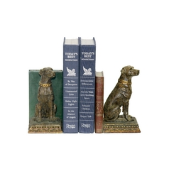 Labrador Dog Decorative Bookends