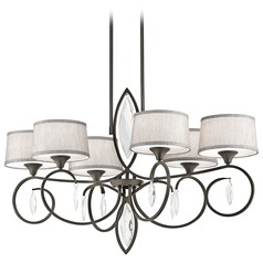 Kichler Casilda 6-Light Chandelier in Olde Bronze