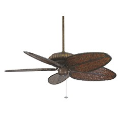 Fanimation Fans Belleria Tortoise Shell Ceiling Fan Without Light