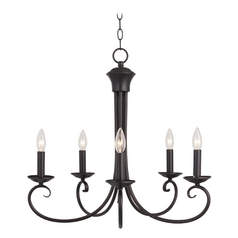 Maxim Lighting International Chandelier in Oil Rubbed Bronze Finish 70005OI
