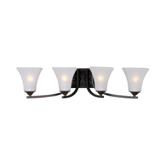 Maxim Lighting Aurora Oil Rubbed Bronze Bathroom Light