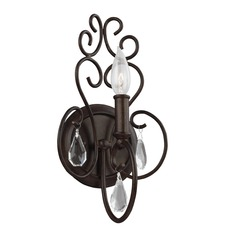 Feiss Lighting Angelette Bonnieaux Bronze Sconce