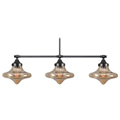 Kenroy Home Rain Drop Warm Bronze Island Light