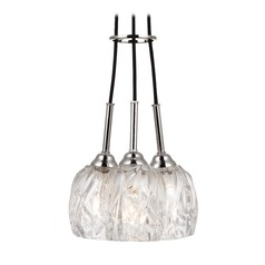 Feiss Lighting Rubin Polished Nickel Mini-Chandelier