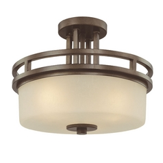 Dolan Designs Lighting Three-Light Semi-Flush Ceiling Light 2885-62