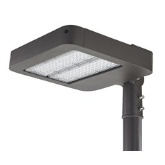 LED Shoebox Area Pole Light Bronze 120-Watt 120v-277v 13000 Lumens 4000K