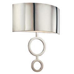 Sonneman Dianelli Polished Nickel Sconce