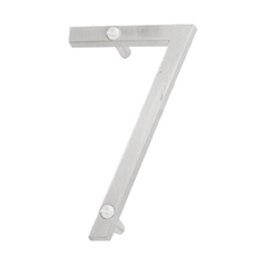 Atlas Homewares Modern House Number in Brushed Nickel Finish ZN7-BRN