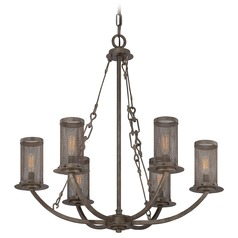 Savoy House Galaxy Bronze Mini-Chandelier