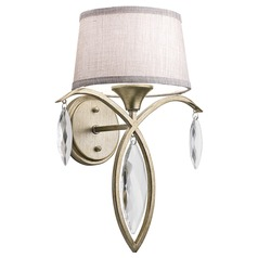 Kichler Lighting Casilda Sterling Gold Sconce