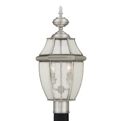 Quoizel Newbury Pewter Post Light
