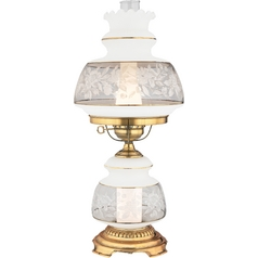 Traditional Hurricane Style Lamp