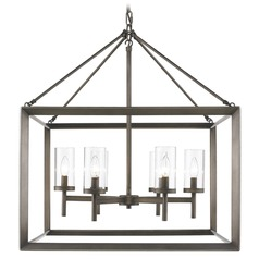 Golden Lighting Smyth Gunmetal Bronze Chandelier